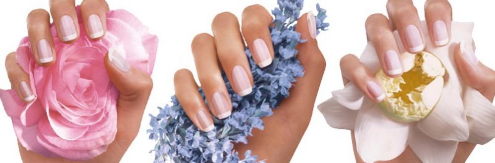 French Nails Naildesign von alessandro International